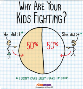 why are your kids fighting