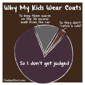 why my kids wear coats