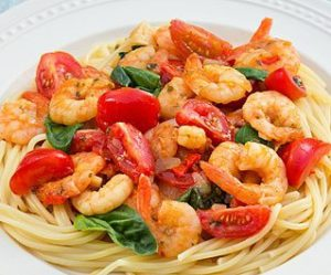 Spaghetti_garnalen