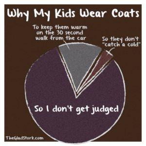 why my kids wear coats