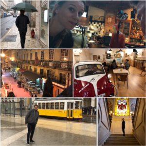 Onze laatste dag verbleven we in Lissabon. Wat een toffe stad is dat. Jammer van de regen. Maar zeker voor herhaling vatbaar.