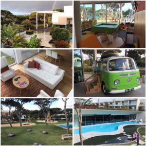 We verbleven de eerste twee nachten in het luxe family resort Martinhal in Cascais.